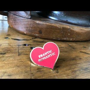 Jewelry - Very cute enamel heart pin